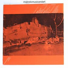 ANDY WARHOL ORANGE CAR CRASH THE VELVET UNDERGROUND LP ORIGINAL VINYL VERY RARE