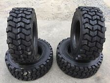 4 HD 12-16.5 Camso/Solideal SKZ Lifemaster Skid Steer Tires - L4 - 12X16.5