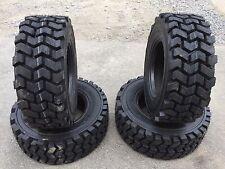 4 HD 12-16.5 Carlisle CSL45 14 PLY Skid Steer Tires -L4-Lifemaster style-12X16.5
