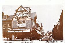 Dorset Postcard - Old Poole - High Street c1900 - Pamlin Prints - Ref.2267