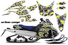 AMR Racing Sled Wrap Yamaha FX Nytro Snowmobile Graphics Kit 08-14 URBAN CAMO Y