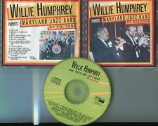 Willie Humphrey meets Maryland Jazz Band of Cologne CD Recording Langenfeld 1990