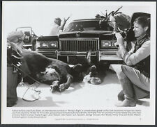 Wrong Is Right '82 KATHARINE ROSS COW CAR MOVIE CAMERA