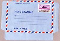 TIMBRE DFRANCE 1977/1980 AEROGRAMME CONCORDE SURVOLANT PARIS YV N° 1007 AER NEUF