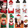 Christmas Xmas Decoration Toilet Seat Cover Set Santa, Elf, Reindeer, Snowman