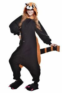 Halloween Racoon Onesiee Kigurumi Fancy Dress Costume Pyjamas Sleep wear suit