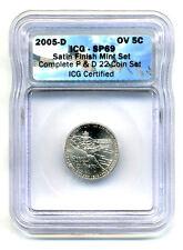 ICG SP69 2005 D JEFFERSON Ocean View NICKEL SATIN FINSH UNCIRCULATED COIN#207