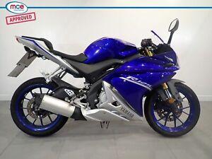 Yamaha YZF R 125 Blue 2018 Spares or Repair Restoration Project Bike Damaged