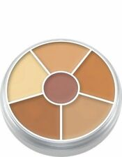 Easy to Apply Concealer Circle 6 Color Shades NR 2 Makeup Palette by Kryolan
