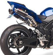 Hotbodies Racing MGP Carbon Fiber Exhaust Mufflers Dual For Yamaha R1  09-14