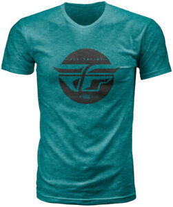 Fly Racing 2020 Inversion Tee Adult Emerald T-Shirt All Sizes