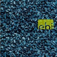 2 kg Aquarium Kies Glamour Stone PETROLEUM BLUE (blau) Aquariengrund Ø 6 - 9 mm