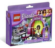 Lego Friends Complete Set 3932 Andrea's Stage Building Toy 87 pc NEW Retired
