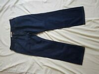 "MENS NEXT DARK BLUE STRAIGHT LEG JEANS SIZE 34"" WAIST 29""LEG"