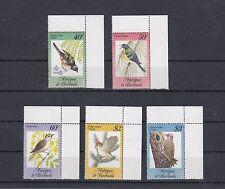 TIMBRE STAMP  5 ANTIGUA BARBUDA Y&T#774-78 OISEAU BIRD NEUF**/MNH-MINT 1984 ~A31