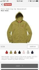 Supreme Gonz Ramm Zip Up Hoodie Moss Green Medium Rare Sold Out