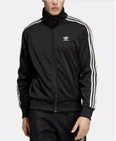 adidas Men's Full Tracksuit Top and Bottoms Navy / Black 3 Stripe Pes Tracksuit