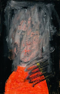 Original Outsider Brut Art Painting How To Erase Someone Katie Jeanne Wood
