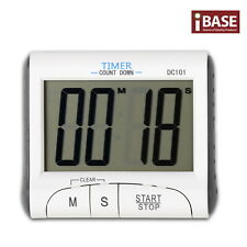 DIGITAL TIMER  CLOCK COUNT DOWN MAGNETIC STICK COOK LOUD ALARM KITCHEN SPORT LCD
