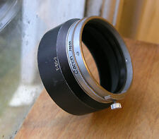 later wider Canon Lens hood  T-50 -2   50mm clamp on over 48mm