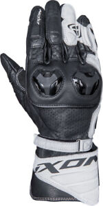 Ixon Tilter Motorcycle Sport Gloves CE Large Cuff Black White Size Large SALE