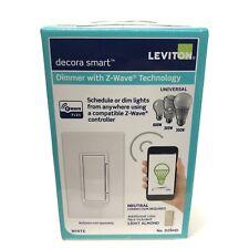 Leviton Decora Smart 600W Dimmer with Z-Wave Plus Technology DZ6HD-1BZ