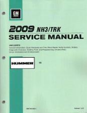 2009 Hummer H3 Factory OEM Service Repair Workshop Shop Manual Book NEW GMT09NH3