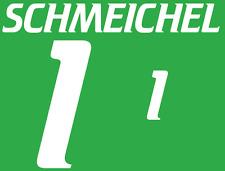 Dinamarca Schmeichel local 2000 Camisa Fútbol Número Letra Fútbol De Impresión De Calor