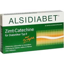 ALSIDIABET Zimt Catechine f.Diab.Typ II Kapseln 30St Kapseln PZN 3896675