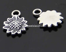 20pc Tibetan Silver sunflower Charm Pendant accessories Beads wholesale  PL154