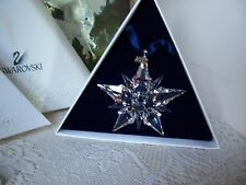 Swarovski 2001 Annual Ornament - Large - New in Boxes