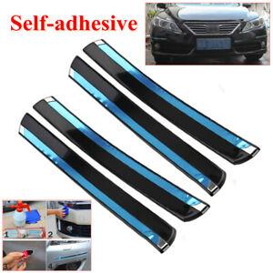 4X Car Front+Rear Bumper Crash Anti-rub Strip Protections Sticker Self-adhesive