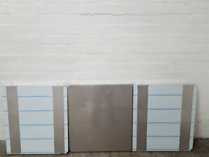 3x Stainless Steel -80 Freezer Shelves Lab