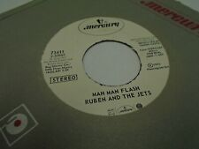 Ruben and The Jets Mah Man Flash [Frank Zappa] 45 RPM 1973 Mercury Records EX
