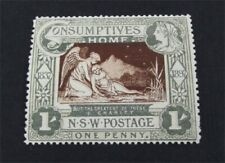 nystamps British Australian States New South Wales Stamp # B1 MOGH $78   A9y1366