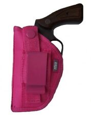 "Pink Gun Side Holster for ALL 38 Special 5 Shot Revolver With 2"" Barrel"