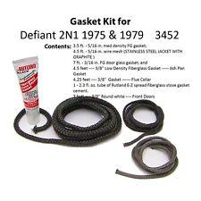 Vermont Castings Gasket Kit  for Defiant 2N1 1975 & 1979    3452      0003452