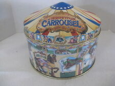 "Hersheypark Carrousel ""Hershey's Hometown Series Canister #13"" Round Tin"