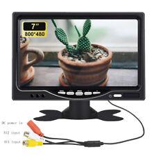 7 inch 800*480 TFT LCD HD Screen Monitor for Car Rear View Reverse Backup Camera