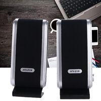 6W USB 3.5mm Mini Power Speaker for Computer Laptop Desktop PC Music Loudspeaker