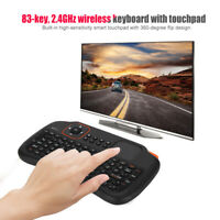 2.4GHz Wireless Fly Air Keyboard Mouse Remote Touchpad For Android TV BOX PC MBS