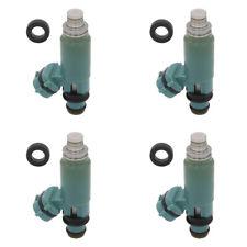 4x OEM 440cc Light Blue Fuel Injectors Feed For 2002-2005 Subaru WRX EJ25 EJ255