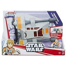 Star Wars Galaxy Heroes Snowspeeder Vehicle & Luke Skywalker Action Figure 2016