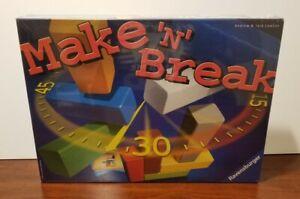 NEW SEALED  Make 'n' Break  RAVENSBURGER 2004  ages 8+  Jack Andrew Lawson