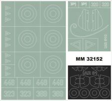 Montex Maxi Mask 1:32 IAR-81 C for Azur FR 8001 Spraying Stencil #MM32152