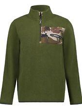 Under Armour Boys' Ua Hunting 1/4 Zip Polar Fleece Green Pullover Sweater XL