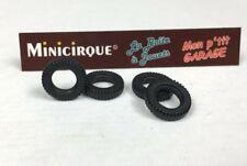 """DO11 - Lot de 4 pneus """"DUNLOP"""" pour SIMCA 1100 1407 DINKY TOYS"""