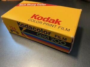 Vintage Kodak color print film 126 Gold 200 24 exp Kodacolor film