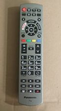 PANASONIC Genuine TV Silver Remote Control : N2QAYB001115 FREE UK DELIVERY