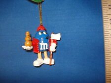 M&Ms Ornament with Ax and Wooden Snowman MM2801M 100